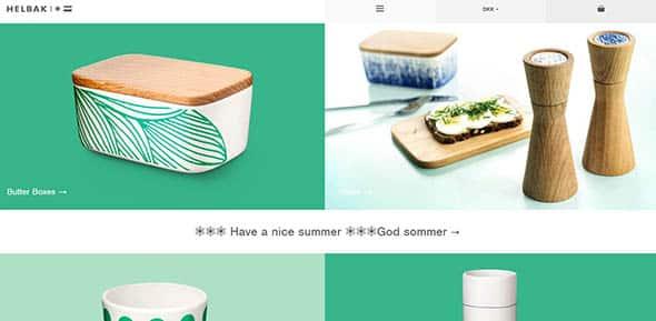 Helbak Ceramics Flat design