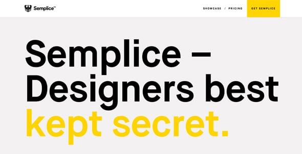 Semplicelabs Flat design