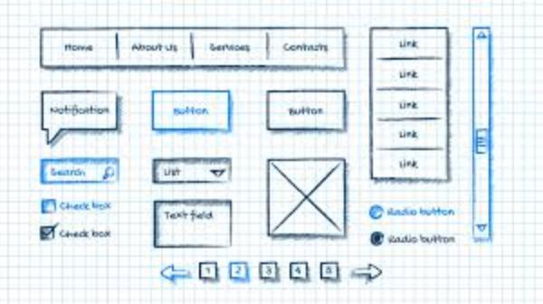 Using colors and other formatting details on the wireframe