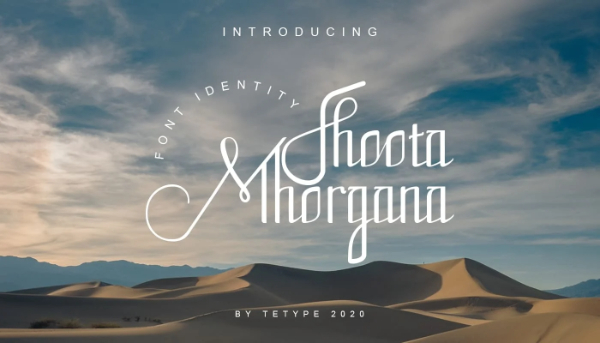 20 Free Psychedelic Fonts All Designers Must Have: Fhoota Mhorgana