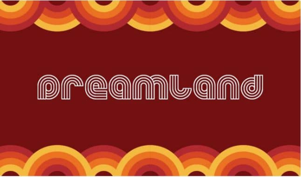20 Free Psychedelic Fonts All Designers Must Have: Dreamland